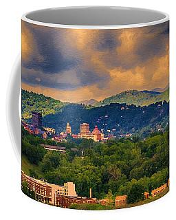 Asheville North Carolina Coffee Mug by John Haldane