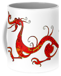 Asian Dragon Coffee Mug