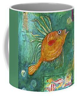 Asian Fish Coffee Mug
