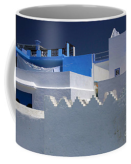 Coffee Mug featuring the photograph Asilah Meaning Authentic In Arabic Fortified Town On Northwest Tip Of Atlantic Coast Of Morocco by Ralph A  Ledergerber-Photography