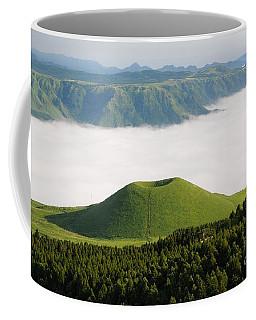 Coffee Mug featuring the photograph Aso Komezuka Sea Of Clouds Cloud Kumamoto Japan by Paul Fearn