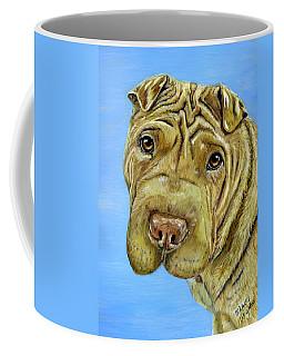 Beautiful Shar-pei Dog Portrait Coffee Mug