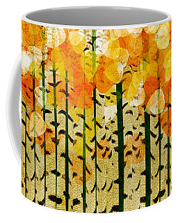 Aspen Colorado Abstract Panorama 4 Coffee Mug