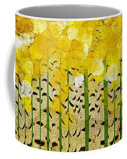 Aspen Colorado Abstract Panorama Coffee Mug