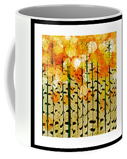 Aspen Colorado Abstract Square 4 Coffee Mug