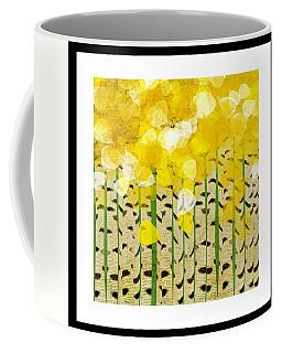 Aspen Colorado Abstract Square Coffee Mug