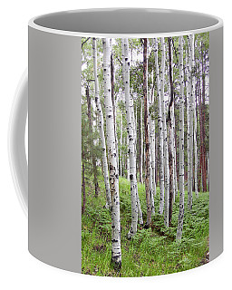 Aspen Forest Coffee Mug by Laurel Powell