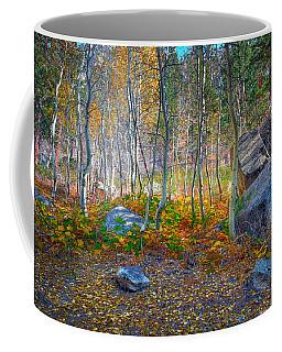 Coffee Mug featuring the photograph Aspen Grove by Jim Thompson