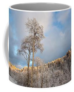 Aspen In Blue Coffee Mug