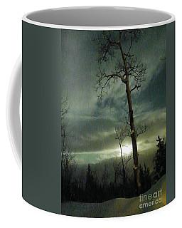 Aspen In Moonlight Coffee Mug