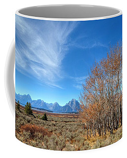 Coffee Mug featuring the photograph Aspen Last Stand  by David Andersen