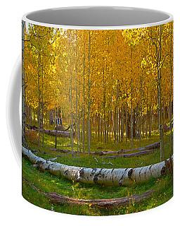 Aspens Enchant Us Coffee Mug by Tom Kelly