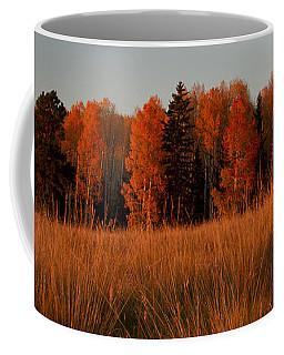 Aspens Glow Coffee Mug by Tom Kelly