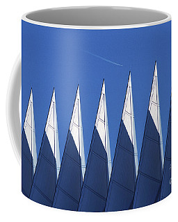 aSPIREing Air Force Academy Chapel with Jet Coffee Mug