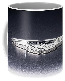Aston Martin Badge Coffee Mug by Douglas Pittman