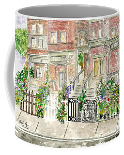 Astor Row In Harlem Coffee Mug