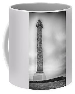 Coffee Mug featuring the photograph Astoria The Column by David Millenheft