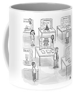 At A Science Fair Coffee Mug