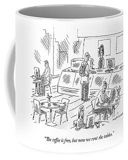 At An Internet Cafe Coffee Mug
