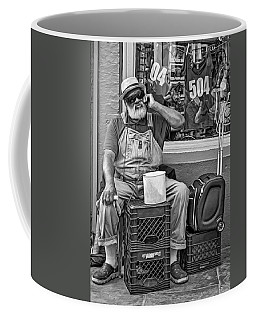 At His Office - Grandpa Elliott Small Bw Coffee Mug