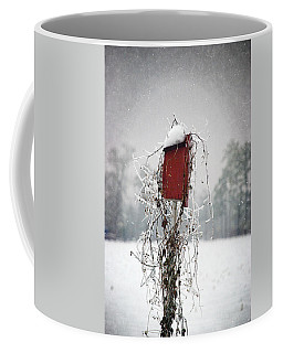 At Home In The Snow Coffee Mug