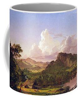 At Home On The Lake By Frederick Edwin Church Coffee Mug
