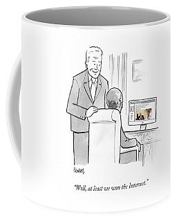 At Least We Won The Internet Coffee Mug