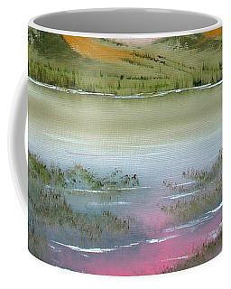 Coffee Mug featuring the painting At Peace by Jennifer Muller