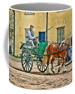 Coffee Mug featuring the photograph At The Blacksmiths by Paul Gulliver