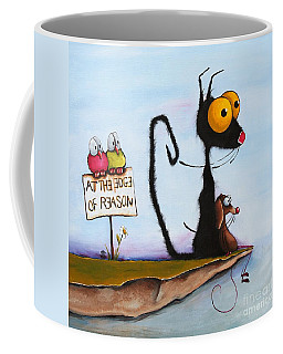 At The Edge Of Reason Coffee Mug