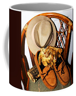 Coffee Mug featuring the painting At The End Of The Day by Jennifer Muller