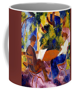 At The Garden Table Coffee Mug