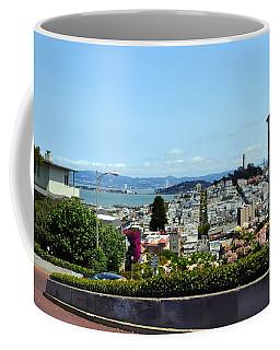 At The Top - Lombard Street Coffee Mug