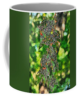 At The Valley Of Butterflies In Rhodes Island Coffee Mug by George Atsametakis