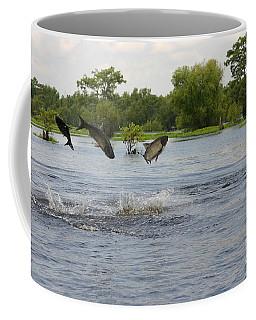 Atchafalaya Swamp Jumping Fish Coffee Mug