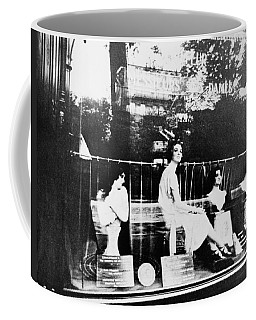 Coffee Mug featuring the photograph Atget Hairdresser, C1920 by Granger