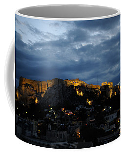 Athen Acropolis Night Coffee Mug