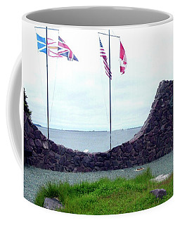 Coffee Mug featuring the photograph Atlantic Charter Historic Site by Barbara Griffin