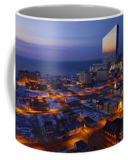 Atlantic City At Dawn Coffee Mug