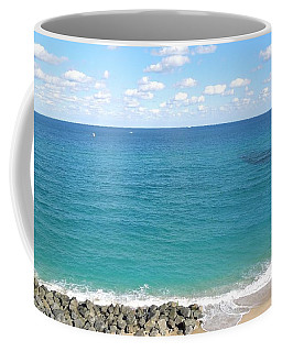 Atlantic Ocean In South Florida Coffee Mug