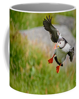 Atlantic Puffin, Incoming.... Coffee Mug