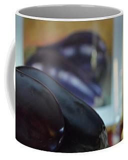 Coffee Mug featuring the photograph Aubergine A Go Go  by Brian Boyle