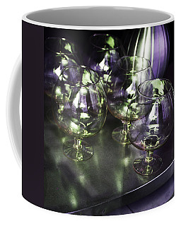 Aubergine Paris Wine Glasses Coffee Mug