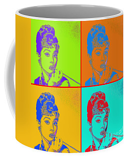 Audrey Hepburn 20130330v2 Four Coffee Mug
