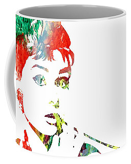 Audrey Hepburn - Watercolor Coffee Mug