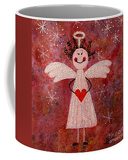 Audrey The Angel Coffee Mug