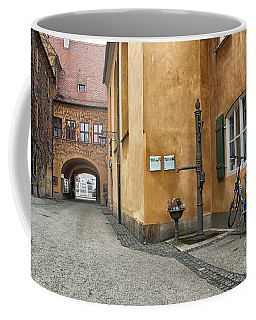 Coffee Mug featuring the photograph Augsburg Germany by Paul Fearn