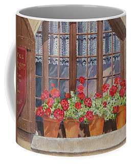 August At The Auberge  Coffee Mug