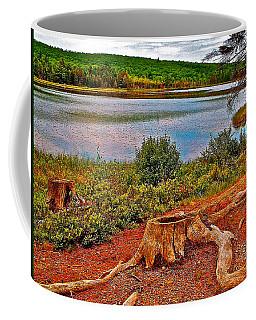 Aunt Betty Pond In Acadia National Park-maine  Coffee Mug