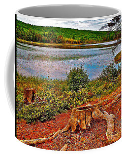Aunt Betty Pond In Acadia National Park-maine  Coffee Mug by Ruth Hager
